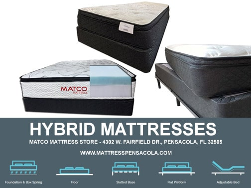 Mattress Hybrid for cheap price in Pensacola