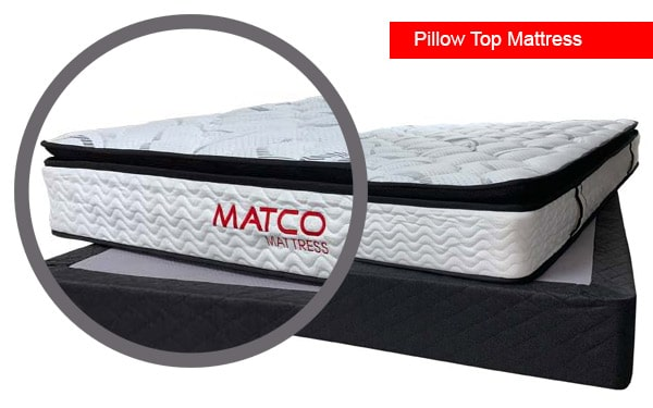 Pillow Top Mattress in store available!