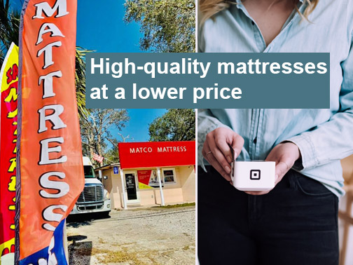 High-quality mattresses at a lower price in Pensacola, Florida!
