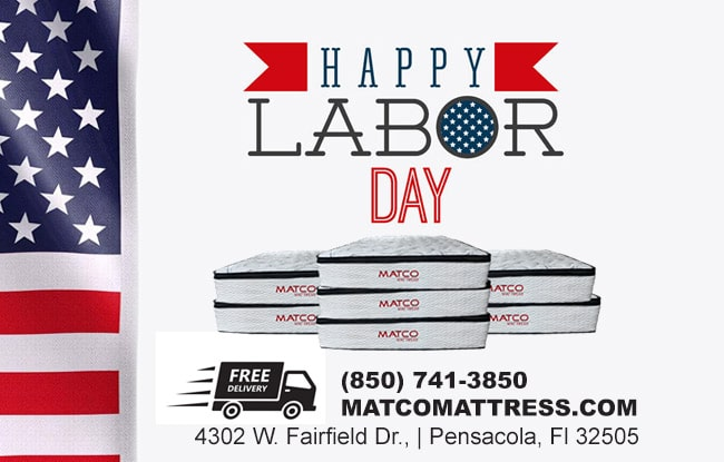 Labor Day Mattress Beds Sale in Pensacola, Fl