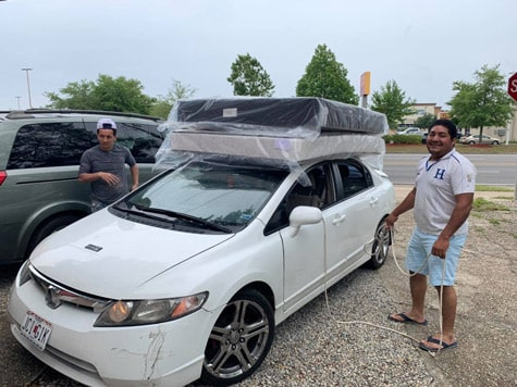 Queen mattress size pick up in Pensacola