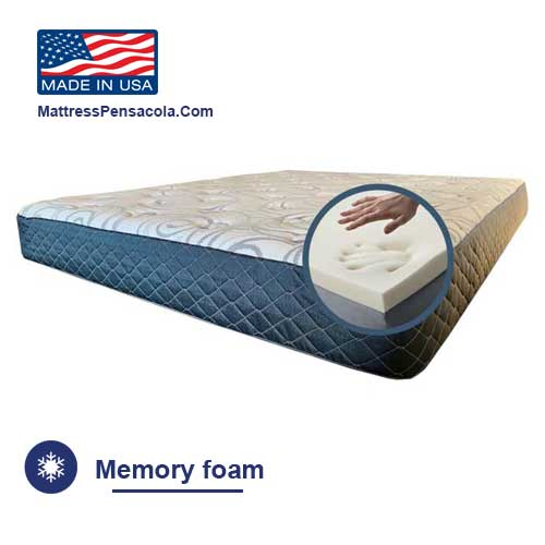 Mattress with memory foam in Pensacola